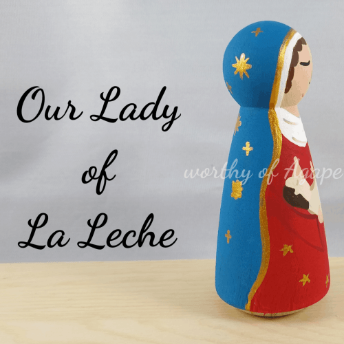 Our Lady of La Leche newest side