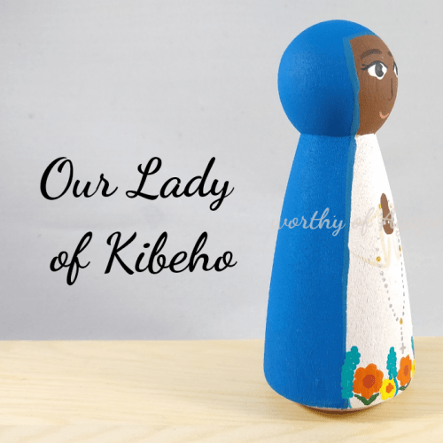 Our Lady of Kibeho side
