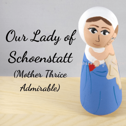 Our Lady of Schoenstatt mother thrice admirable top