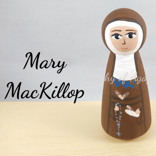 Mary MacKillop new top