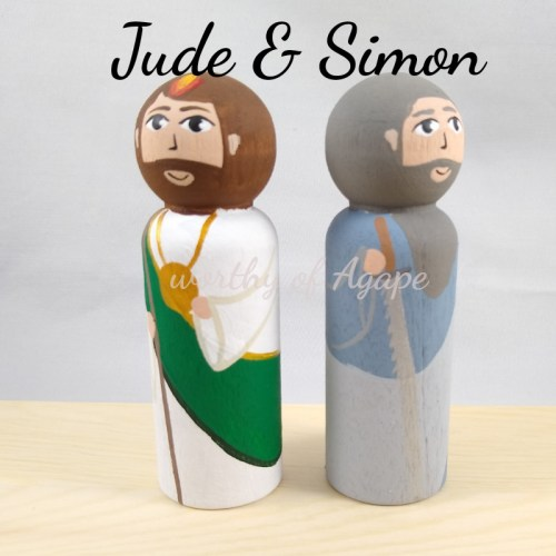 Simon and Jude back to back