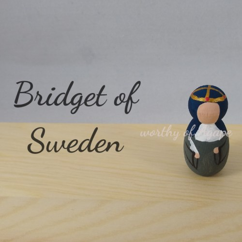 Bridget of Sweden keychains ornaments top