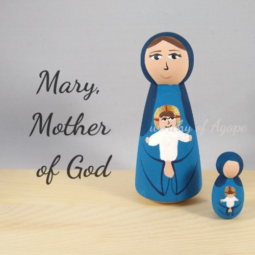 Mary, Mother of God comparison