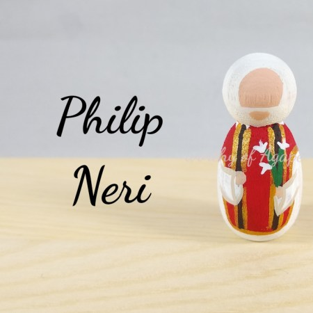Philip Neri keychain ornament