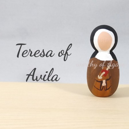 Teresa of Avila keychain ornament