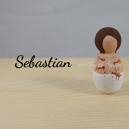 Sebastian keychain ornament main