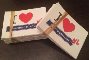 Kaarten retour Wortmanstraat