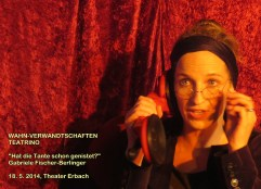 Gabriele Fischer als Frau Dr. Sperz