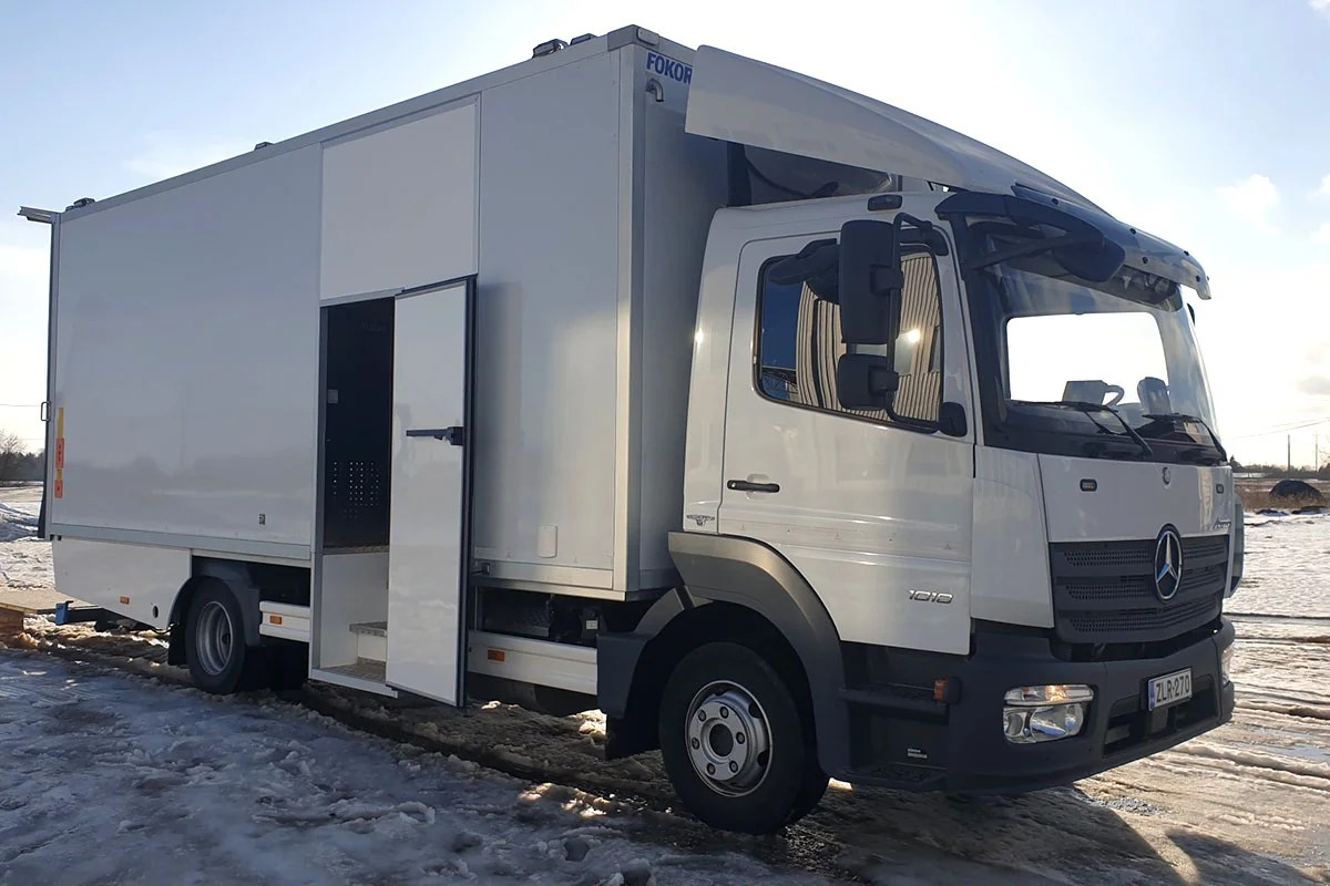 MB Atego Service Truck for Rotator Finland