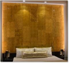 Luxury- 7 Gold Décor on Travertino