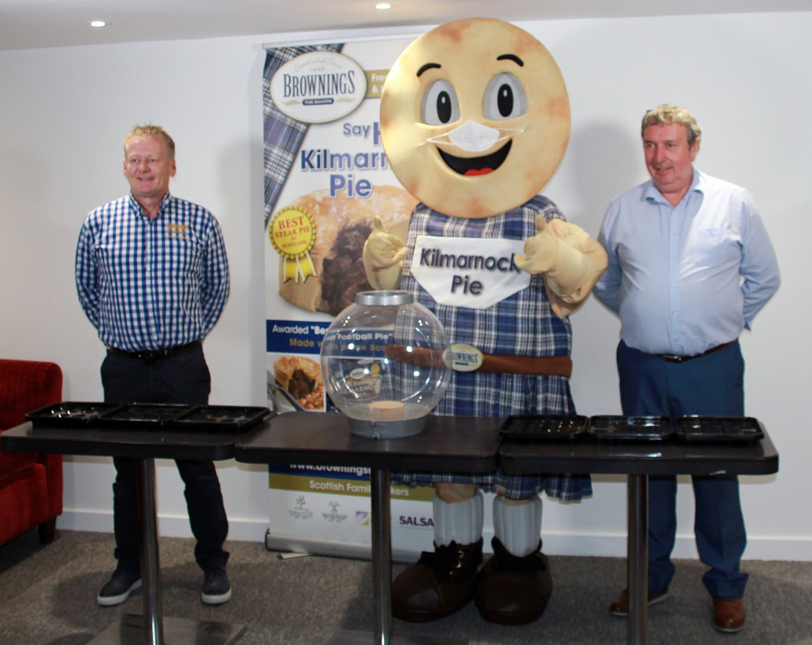 Say Hi to The Kilmarnock Pie…West Of Scotland Football League Cup