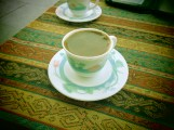 I normally take my coffee with milk, but when in Istanbul...
