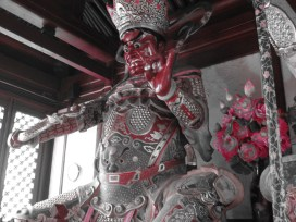 My favorite Buddhist statue at the temple.