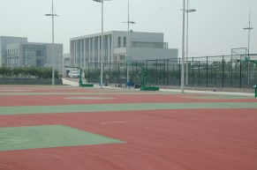 Revamped Bball Courts: looking pretty good.