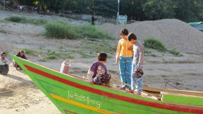 Kids Selling Trinkets to Cruisers