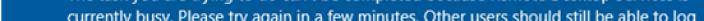 Lỗi RDS Không thể hoàn thành tác vụ bạn đang cố gắng thực hiện vì Remote desktop services currently busy