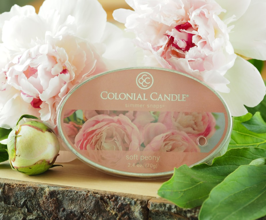 Colonial Candle Soft Peony