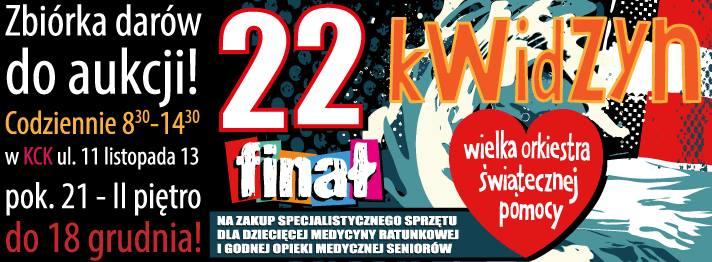 Zbiórka darów do aukcji 22. Finału WOŚP Kwidzyn!