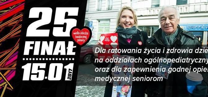 25 Finał WOŚP – startujemy!