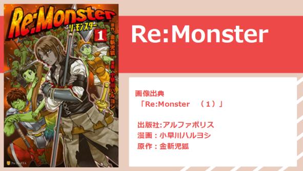 Re:monsterアイキャッチ画像