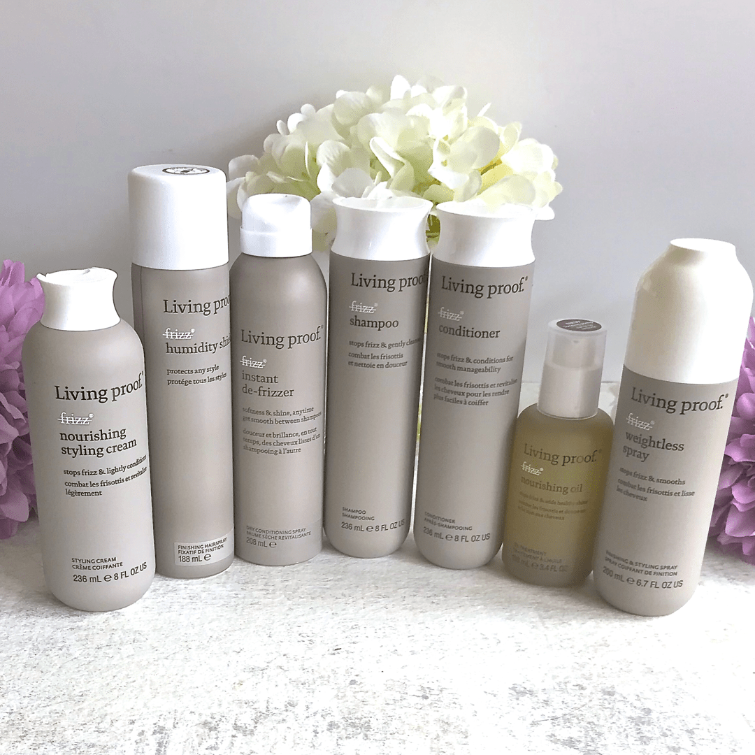 Keeping My Hair Frizz Free With Living Proof Review