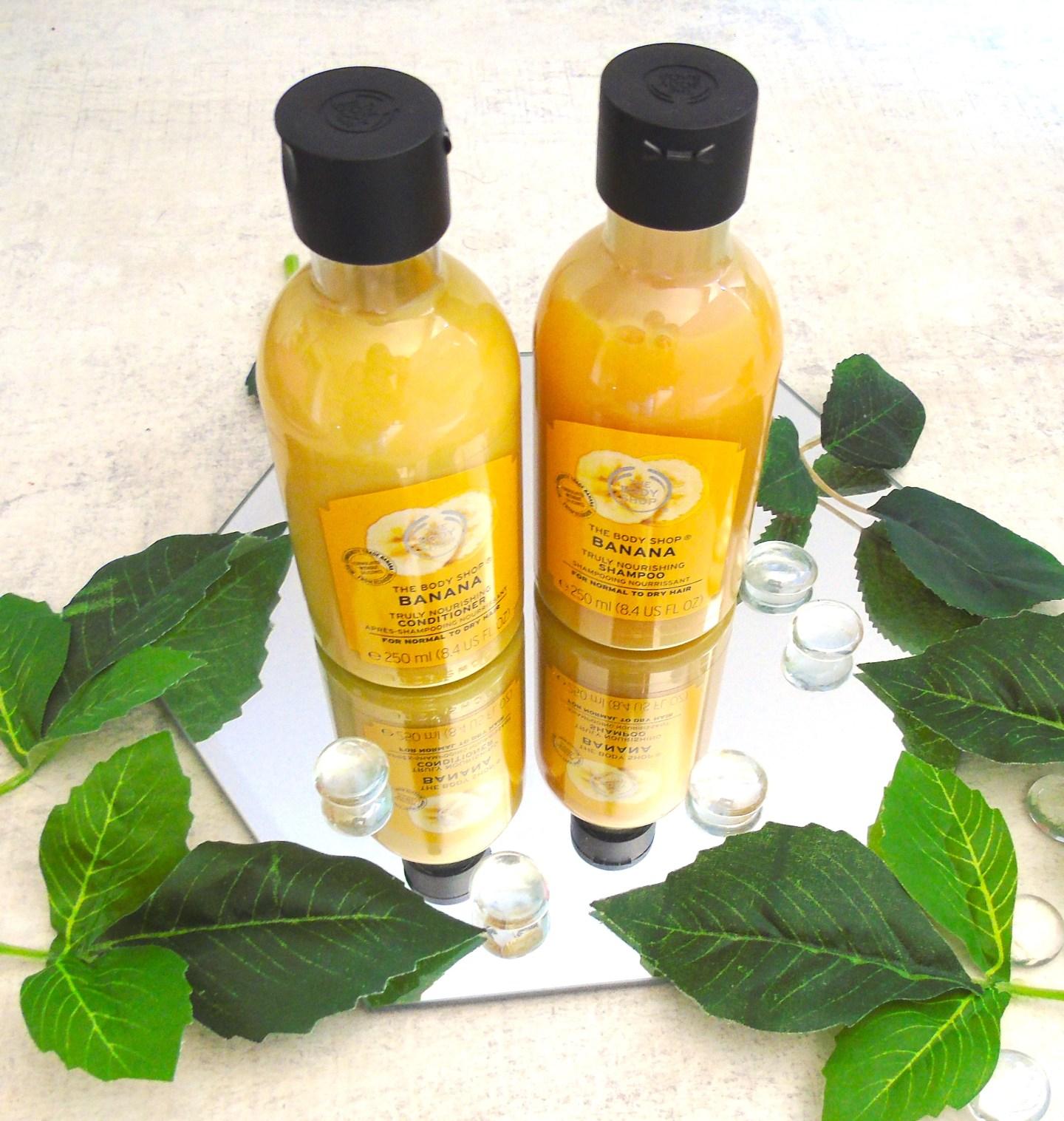 Body Shop Shampoo & Conditioner