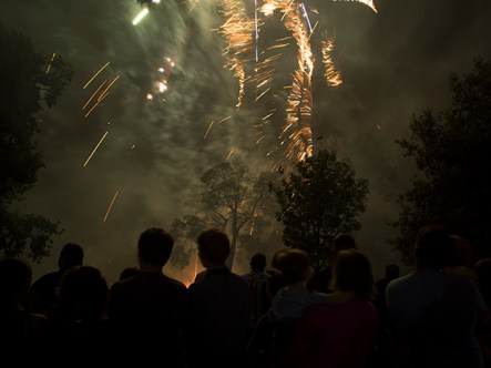 OLYMToowoomba New Year's Eve Fireworks 2013-14. Photo: Doug Spowart + Victoria CooperPUS DIGITAL CAMERA
