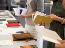 Judges looking at books