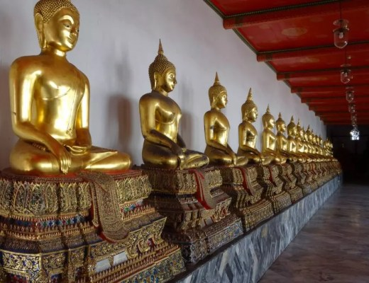 Buddhas in Wat Pho
