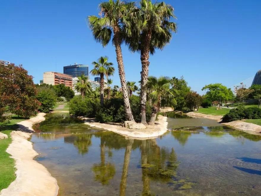 River Turia Gardens, Valencia