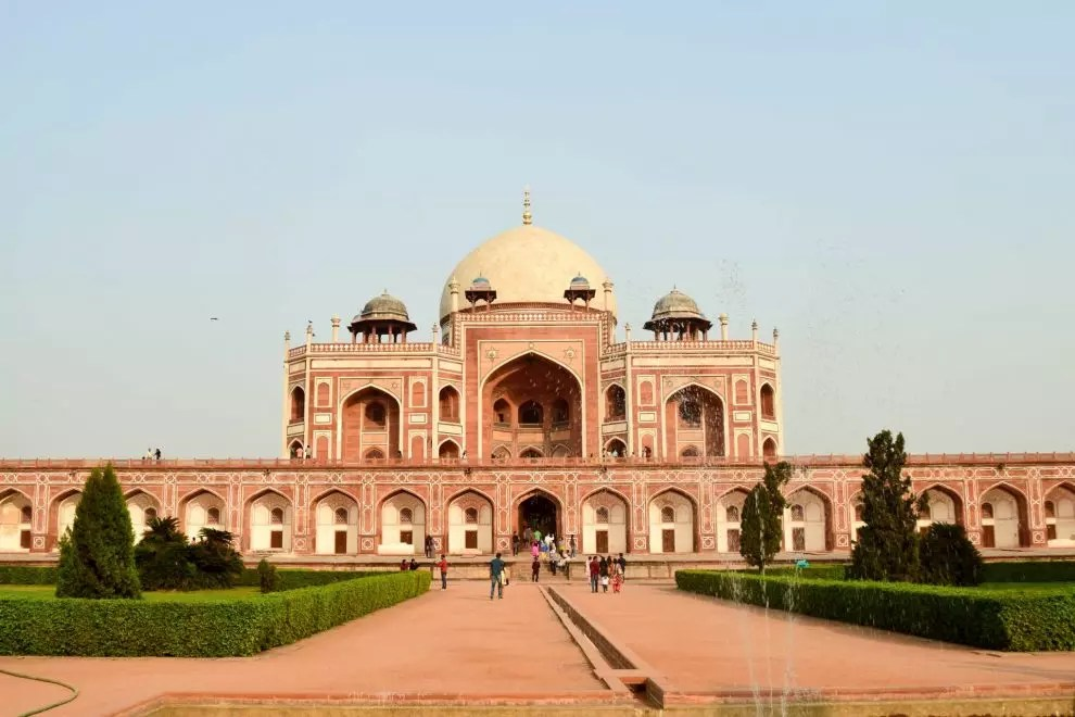 India's Golden Triangle - Humayun's Tomb