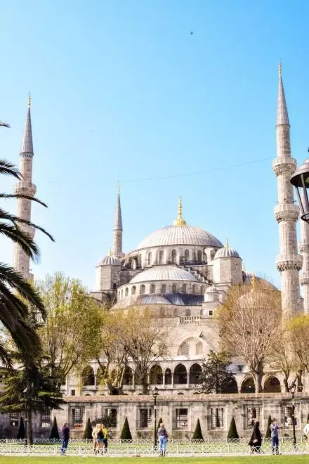 48 hours in Istanbul: Blue mosque