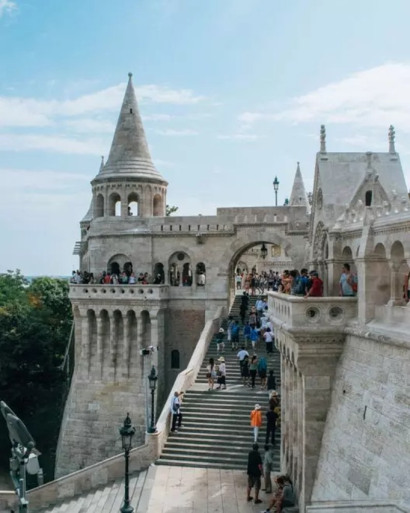 Would Be Traveller - Budapest Fisherman's Bastion