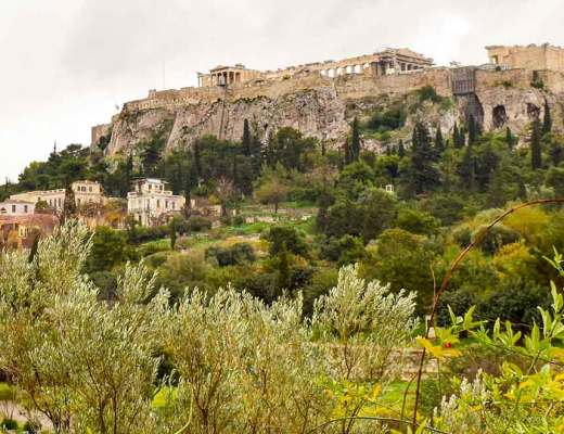 Would Be Traveller Athens in winter acropolis hill