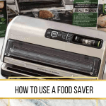 How to use a food saver image with white background