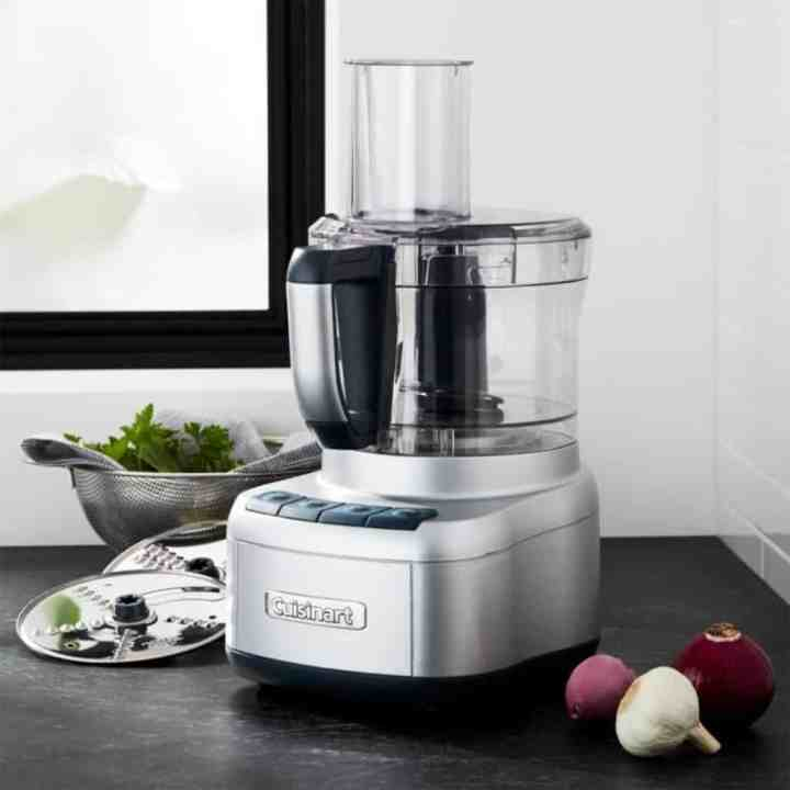 cuisinart food processor sitting on a counter