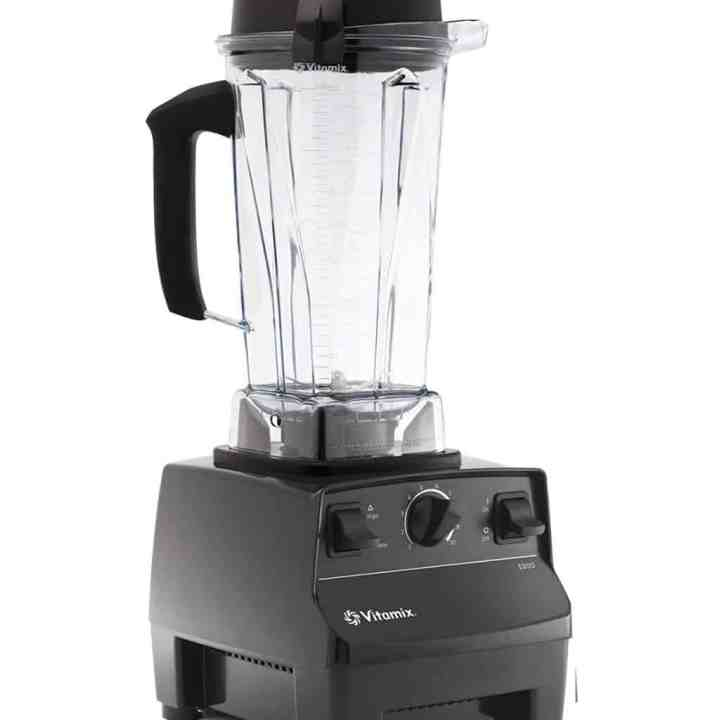 vitamix blender against a white background