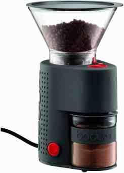 bodum bistro burr electronic coffee grinder