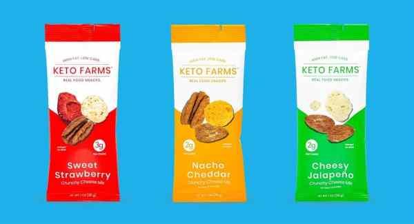 keto crunchy cheese mix by keto farms