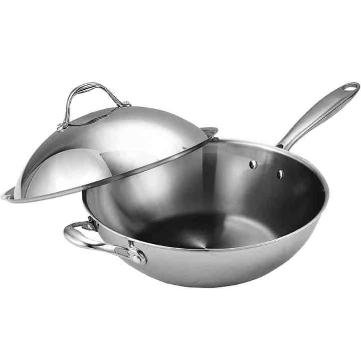 Cooks Wok With Lid