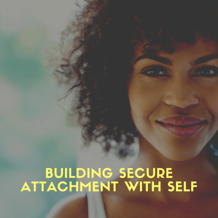 Build Secure Attachment with Yourself