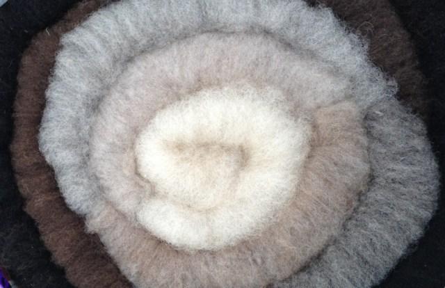 shetland natural fleece
