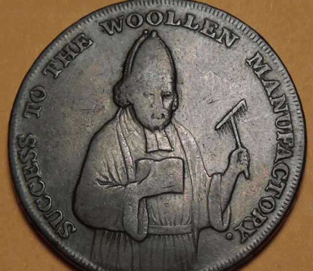 a coin from 1752, image found here