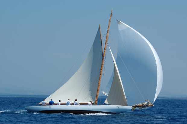 A sailing vessel used to symbolise how CRM can put the wind in your business' sales