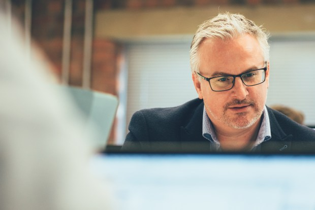 Woven Client Services Director, Mark Bower, who oversaw Woven's rebranding process