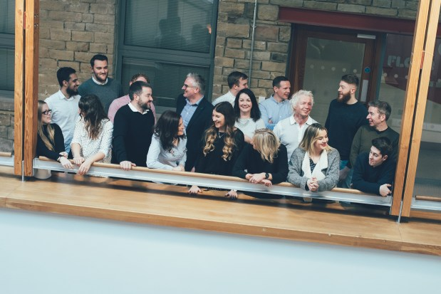 Team shot of Woven, a full-service marketing agency