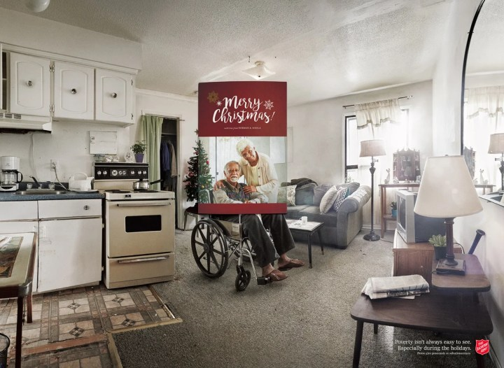 The Salvation Army's poverty isn't always easy to see advert