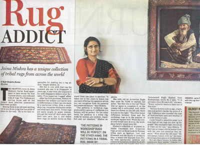 Hindustan Times Article on Wovensouls