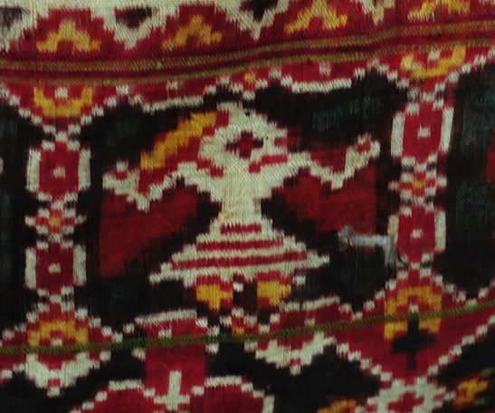 Patan Patola double Ikat silk