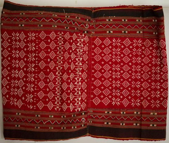 Vintage Pilih weave Bidang Skirt